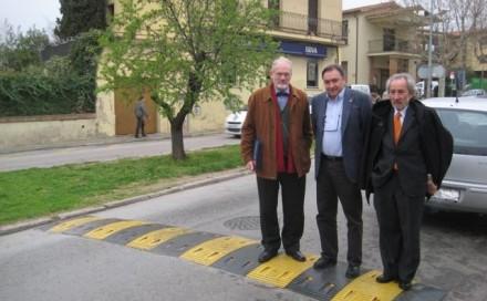 Ole Thorson visits Ecobam and evaluates the Speed Bumps Ecobam RDV