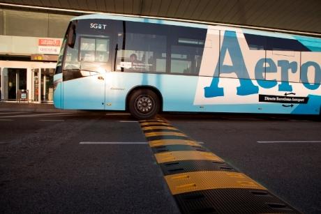 Banda Reductora de Velocidad en Aeropuerto de Barcelona - Imagen 1