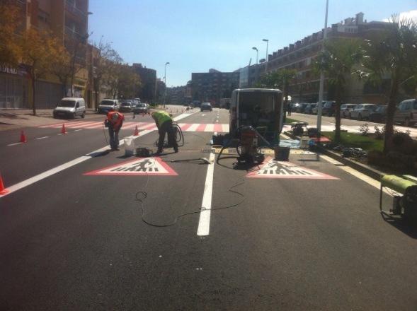 Bandas Reductoras de Velocidad en Sant Andreu de la Barca - Imagen 1