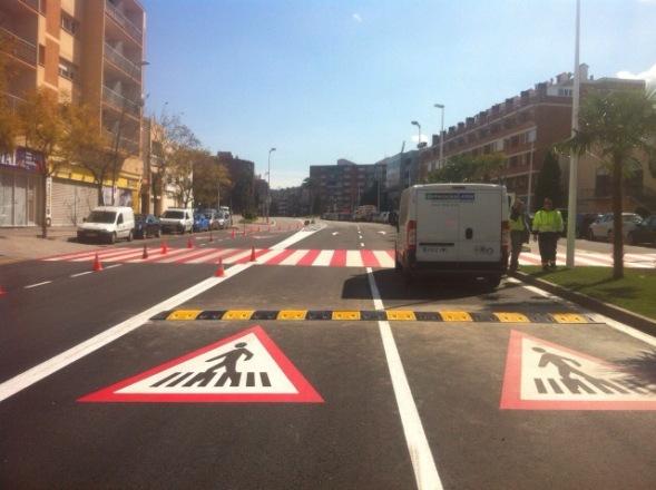 Bandas Reductoras de Velocidad en Sant Andreu de la Barca - Imagen 2